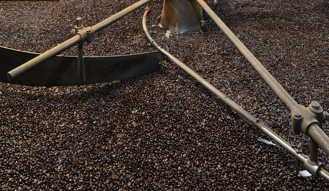 Roasting Kona Coffee